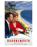 Bournemouth Couple Print