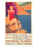 Southern Railway for Sunshine at Home Or Abroad Posters