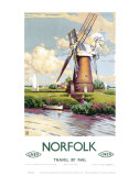 Norfolk Windmill Art