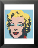 Marilyn, c.1967 (on blue ground) Affiches par Andy Warhol