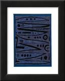 Heroic Strokes of the Bow, c.1928 Kunstdrucke von Paul Klee