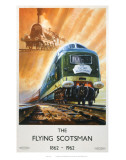 Flying Scotsman, Train in Air Posters