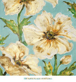 Blue Floral I Posters by Karen Leibrick