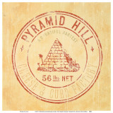 Pyramid Hill Posters by Eric Gillett