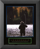 Leadership - P&#234;cheur Affiches