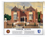 Harrow School Print