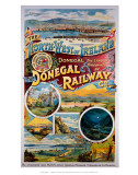The Donegal Railway, North West of Ireland Posters