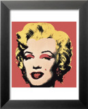 Andy Warhol - Marilyn, c.1967 (on red ground) Plakát