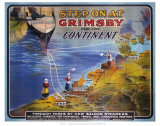 Step on at Grimsby Poster