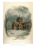 Hereford Cathedral, North West Affiches par Arthur Wilde Parsons
