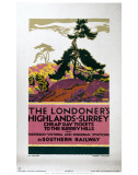 The Londoner's Highlands Posters