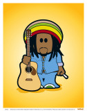 Weenicons: Natty Dread Print