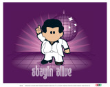 Weenicons: Stayin Alive Posters
