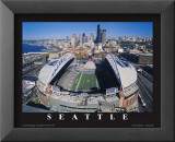 Seattle Seahawks- Quest Field Plakater