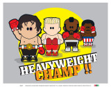 Weenicons: Heavyweight Champ Prints