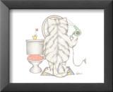 Chats de salle de bainII Affiches par A. Langston