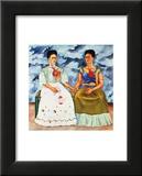 The Two Fridas, c.1939 Posters av Frida Kahlo