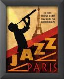 Jazz in Paris, 1970 Kunst von Conrad Knutsen