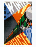 South for Winter, Southern Sunshine Posters