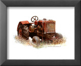 Early Model Oliver Tractor Prints by Sharon Pedersen