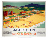 Aberdeen, By the Sea Prints