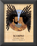Scorpio (Oct 24-Nov 21) Prints by Orah-El
