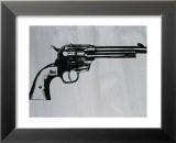 Gun, c.1981 Lminas por Andy Warhol