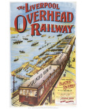 Liverpool Overhead Railways Posters