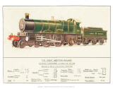 Express Passenger Locomotive, No.190, Great Western Railway Posters