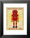 Ted Box Art Robot Kunst von John Golden