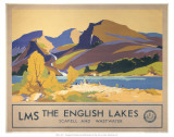 The English Lakes Print