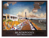 Blackpool New Promenades Prints