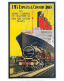 LMS Express and Cunard LNER Prints
