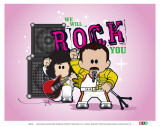 Weenicons: We Will Rock You Pósters