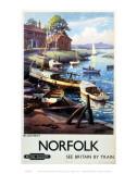Blakeney Boats Norfolk Plakaty