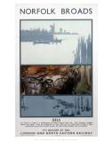 Broads Eels Print