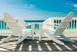 Deck Chairs Prints by Doug Cavanah