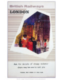 British Railway London Poster