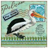 Shorebirds, Pelican Affiches par Jennifer Brinley