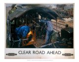 Clear Road Ahead, Monmouth Castle Prints