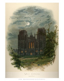 Wells Cathedral, West Front Affiches par Arthur Wilde Parsons