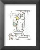 Chats de salle de bainVII Posters par A. Langston