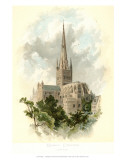 Norwich Cathedral, South East Print by Arthur Wilde Parsons