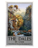 The Dales Watermill Posters