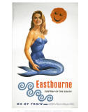 Eastbourne Suntrap of the South Mermaid Posters