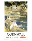 Cornwall Harbour Print