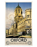 Oxford GWR Colleges Posters