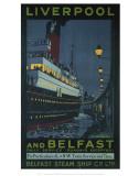 Liverpool and Belfast Reprodukcje