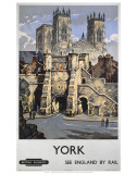 York, See England by Rail Prints