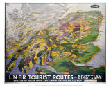 Tourist Routes in Scottish Highlands Prints